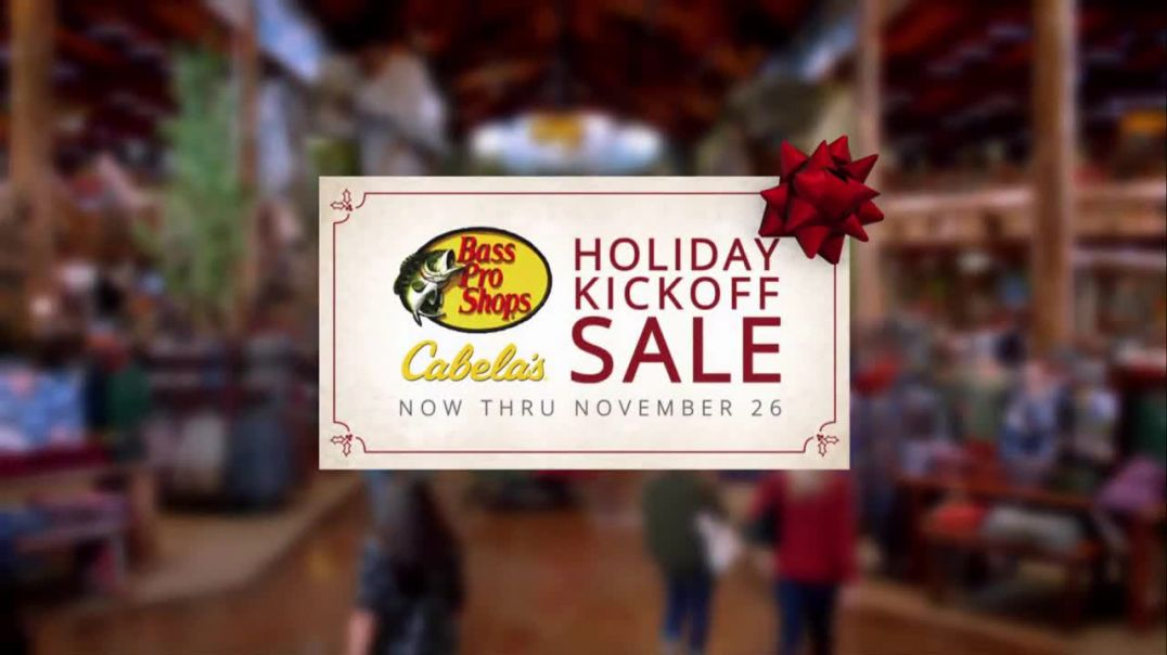 Bass Pro Shops Holiday Kickoff Sale TV Commercial Ad Flannel Shirts and Slippers.mp4