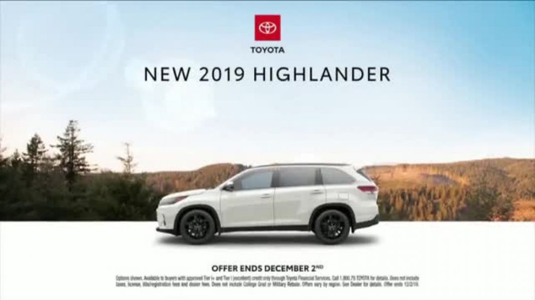 2019 Toyota Highlander TV Commercial Ad Dear Pups .mp4