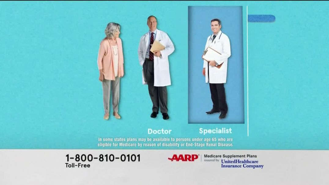 UnitedHealthcare AARP Medicare Supplement Plan TV Commercial Ad Freedom to Choose.mp4