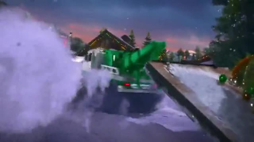 2019 Hess Tow Truck Rescue Team TV Commercial Ad Christmas Tree Rescue.mp4