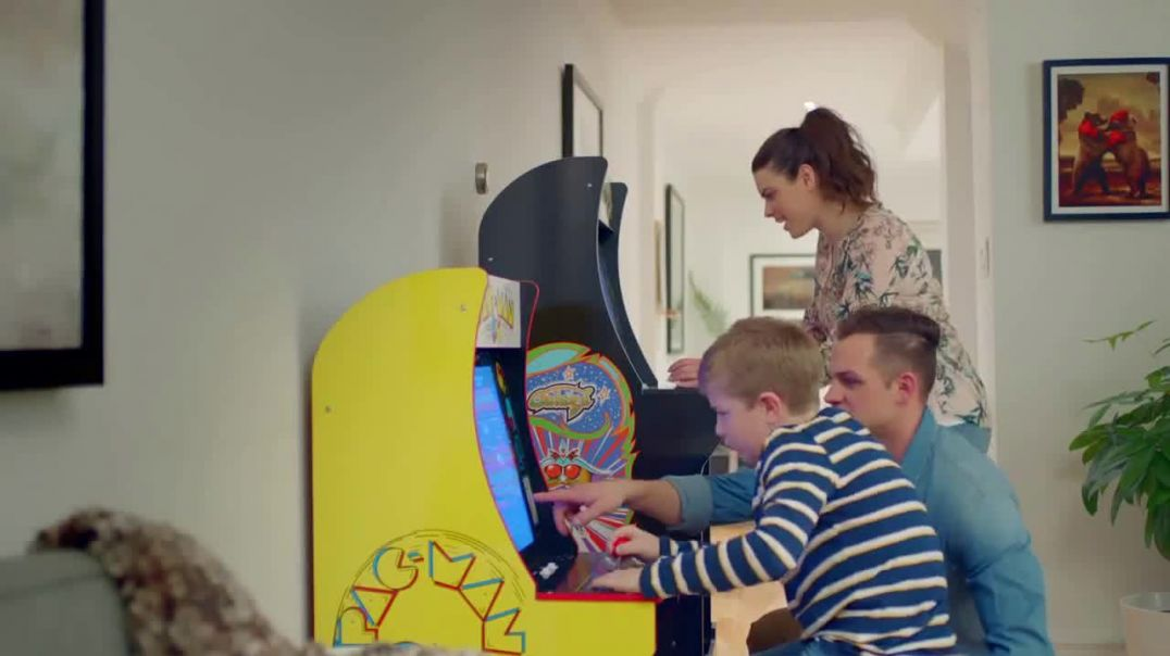 Arcade1Up TV Commercial Ad Bring the Arcade Home.mp4