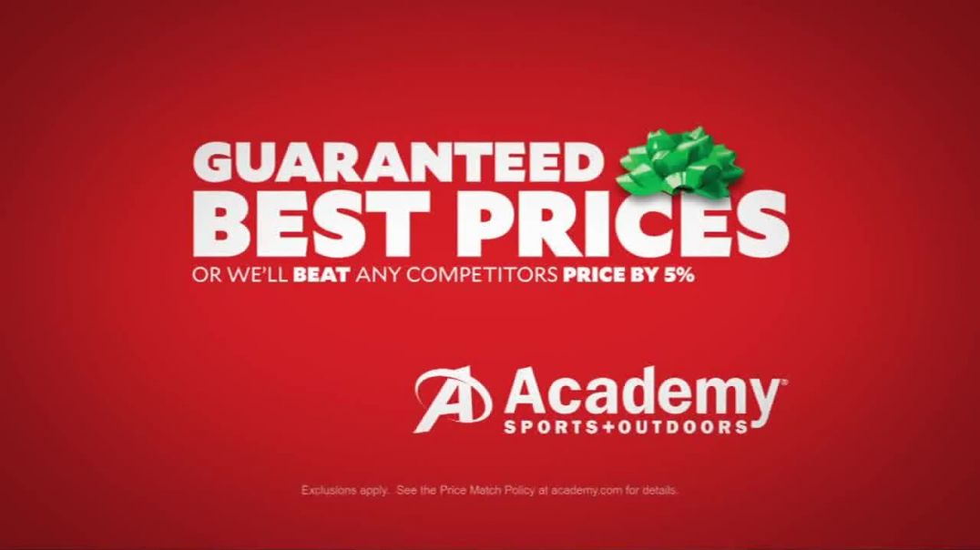 Academy Sports + Outdoors TV Commercial Ad Holiday Gifts Basketball & Bikes.mp4