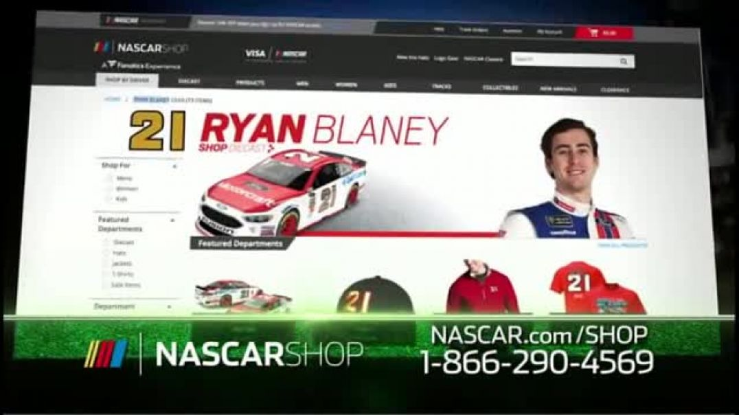 NASCAR Shop TV Commercial Ad Your Favorite Drivers.mp4