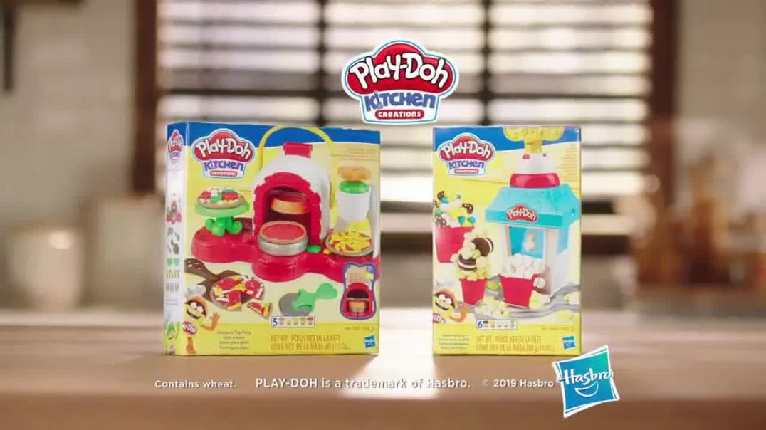 PlayDoh Kitchen Creations TV Commercial Ad Watch It Spin and Pop.mp4