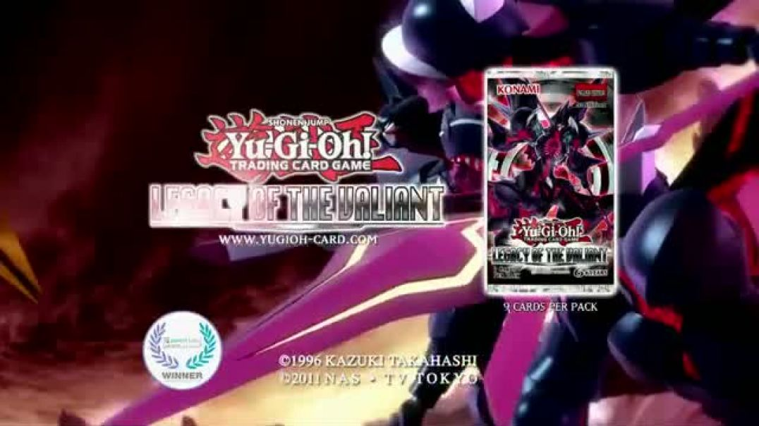 YuGiOh! Legacy of the Valiant Trading Cards TV Spot.mp4