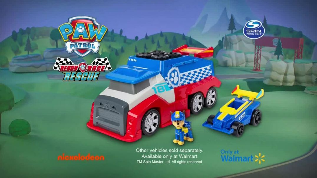 PAW Patrol Ready Race Rescue Mobile Pit Stop TV Commercial Ad Get a Boost.mp4