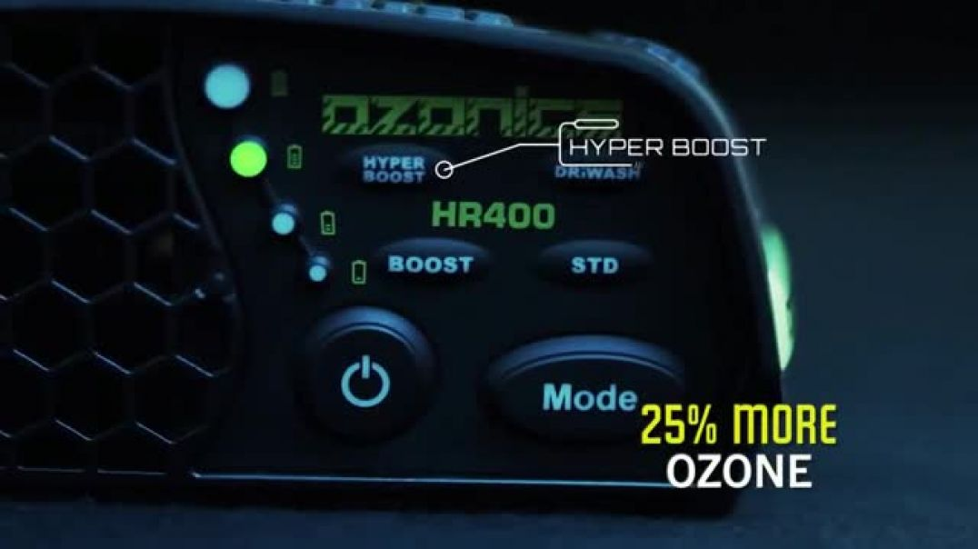 Ozonics Orion TV Commercial Ad Hyperboost Mode Free Driwash Bag.mp4