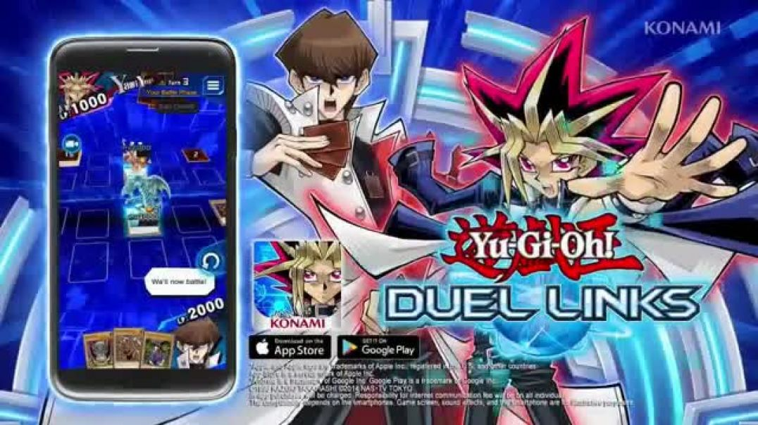 YuGiOh! Duel Links TV Commercial Ad Make Your Move.mp4