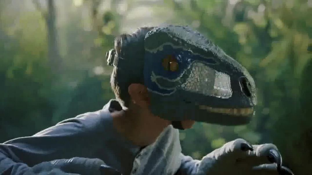 Mattel TV Commercial Ad Jurassic World Chomp n Roar Mask.mp4
