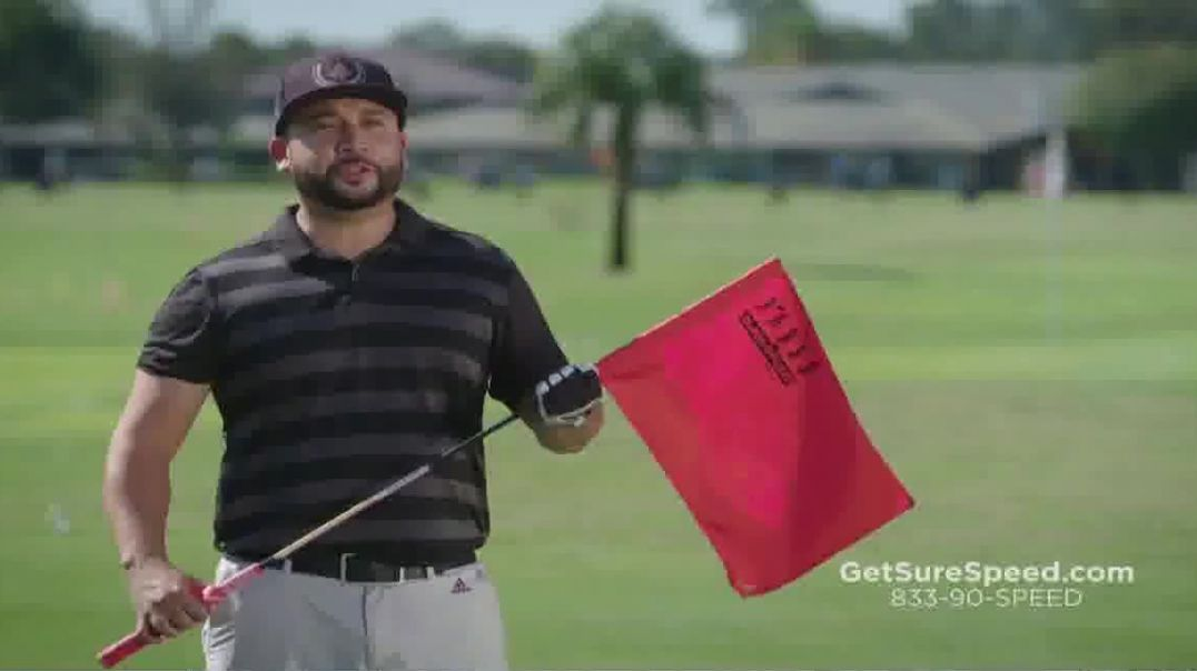 Revolution Golf SureSpeed TV Commercial Ad Swing Faster and More Consistently Featuring Martin Hall.