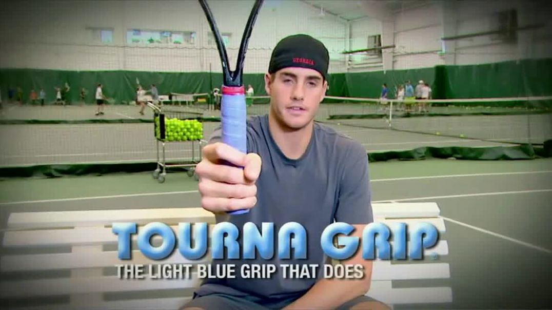 Tourna Grip TV Commercial Ad Critical to my Game Featuring John Isner.mp4