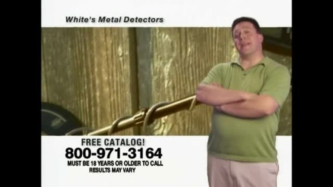 Whites Electronics Metal Detectors TV Commercial Ad Outdoor Hobby.mp4