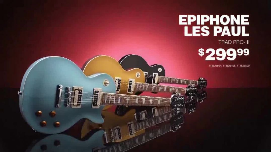 Guitar Center TV Commercial Ad Great Gifts Martin X Series and Epiphone Les Paul.mp4