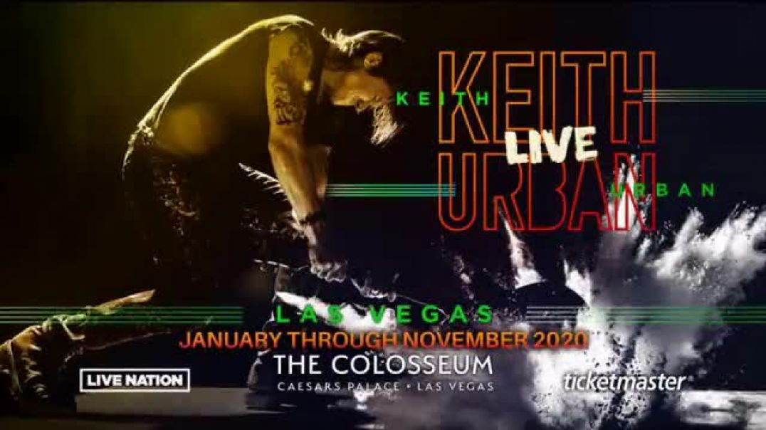 Keith Urban Live TV Commercial Ad 2020 Las Vegas Residency The Colosseum.mp4