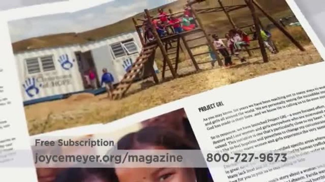 Joyce Meyer Ministries Enjoying Everyday Life Magazine TV Commercial Ad At Work.mp4