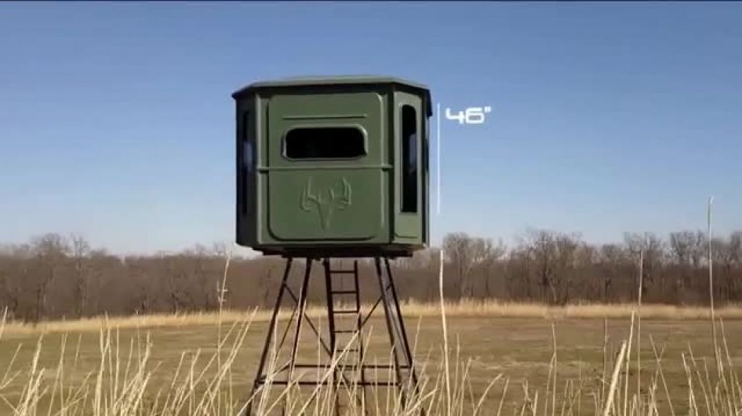 Redneck Hunting Blinds 6x7 Big Country TV Commercial Ad More Space.mp4