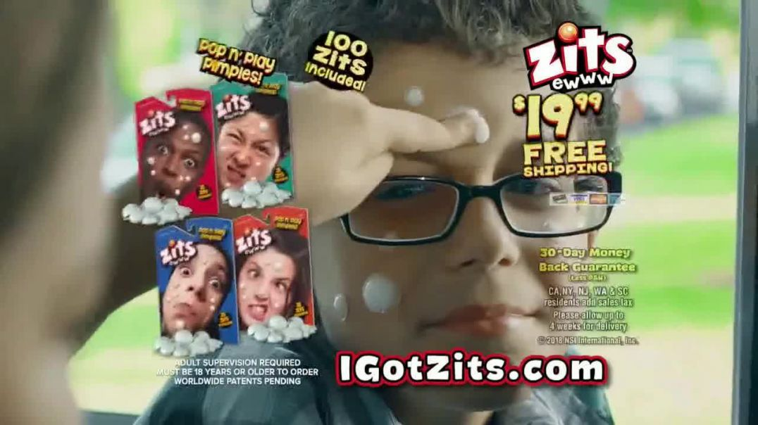 Zits Pop n Play Pimples TV Commercial Ad School Bus.mp4