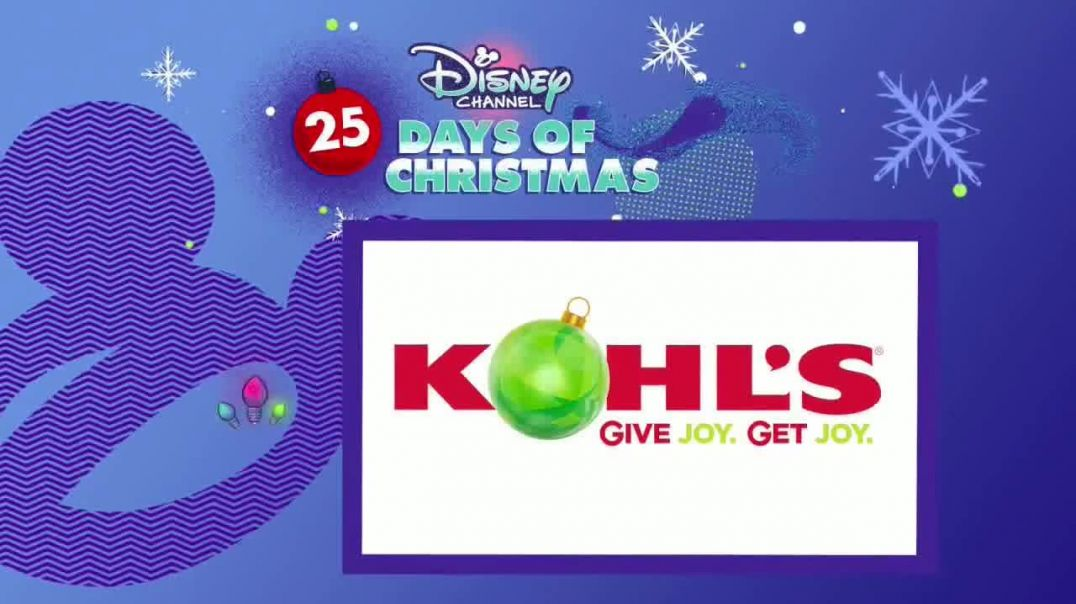 Kohls TV Commercial Ad Disney Channel Joy Comes from Giving Featuring Christy Carlson Romano.mp4