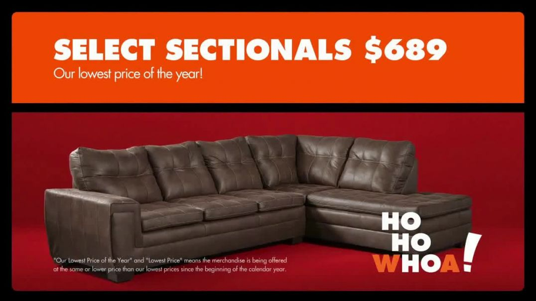 Big Lots Black Friday Sale TV Commercial Ad HoHoWhoa Select Sectionals.mp4