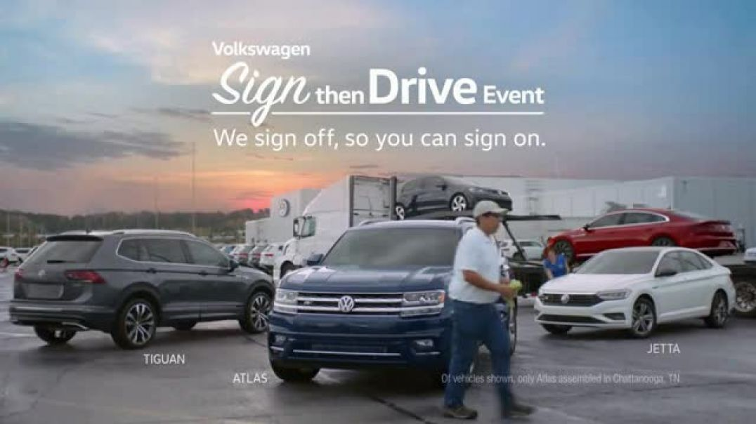 Volkswagen Sign Then Drive Event TV Commercial Ad Tim The People Behind the Car.mp4