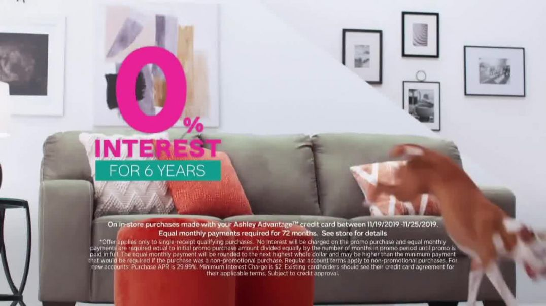 Ashley HomeStore Black Friday Sale TV Commercial Ad Up to 50 Percent Off Doorbusters Song by Midnigh