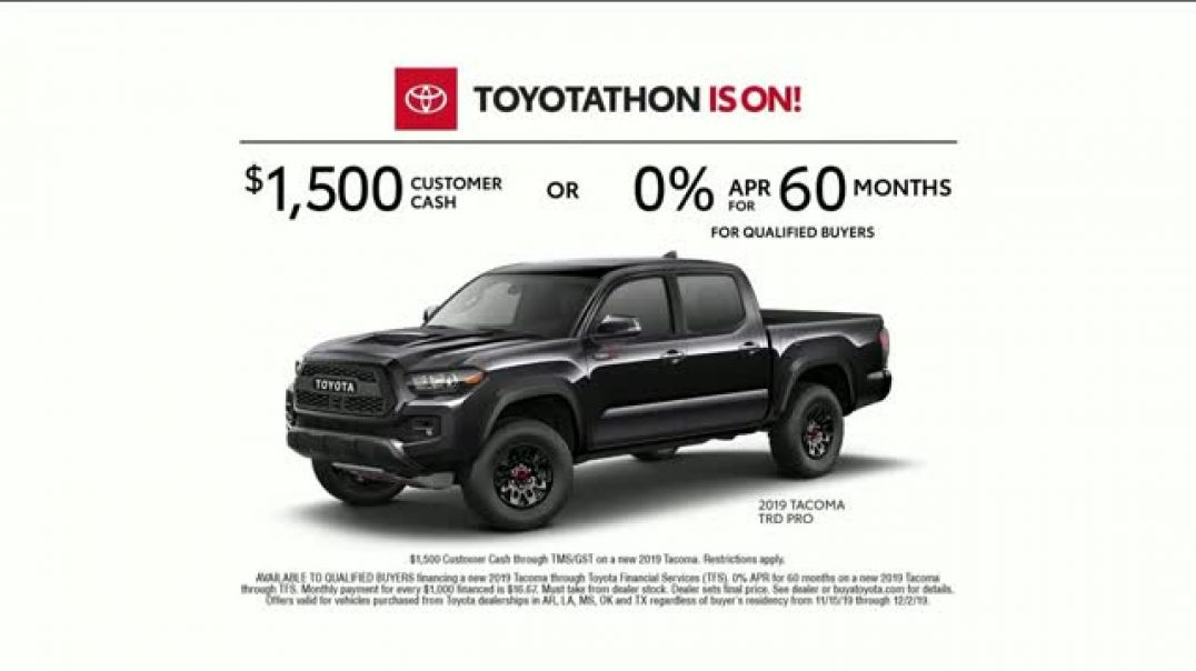 Toyota Toyotathon TV Commercial Ad YearEnd Savings.mp4