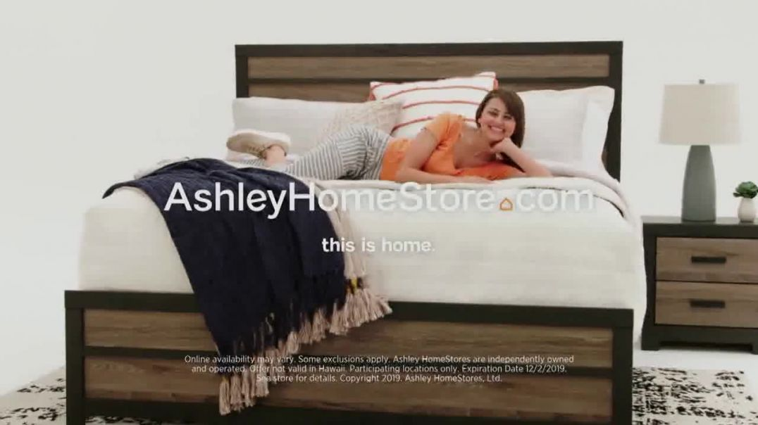 Ashley HomeStore Black Friday Mattress Sale TV Commercial Ad Doorbusters Ashley Sleep Starting at $9