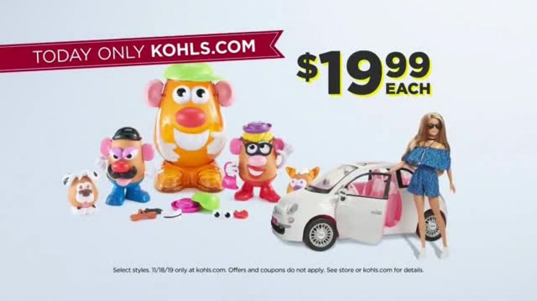 Kohls Black Friday Early Access TV Commercial Ad Monday Early Access Luggage, Sheets & T