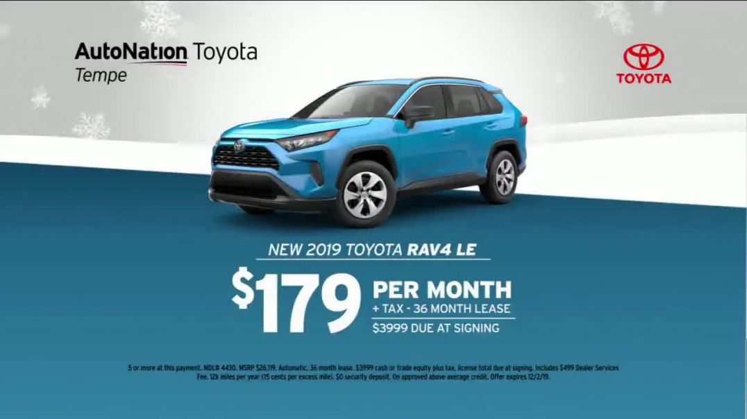 AutoNation TV Commercial Ad More Under the Tree 2019 RAV4 LE.mp4