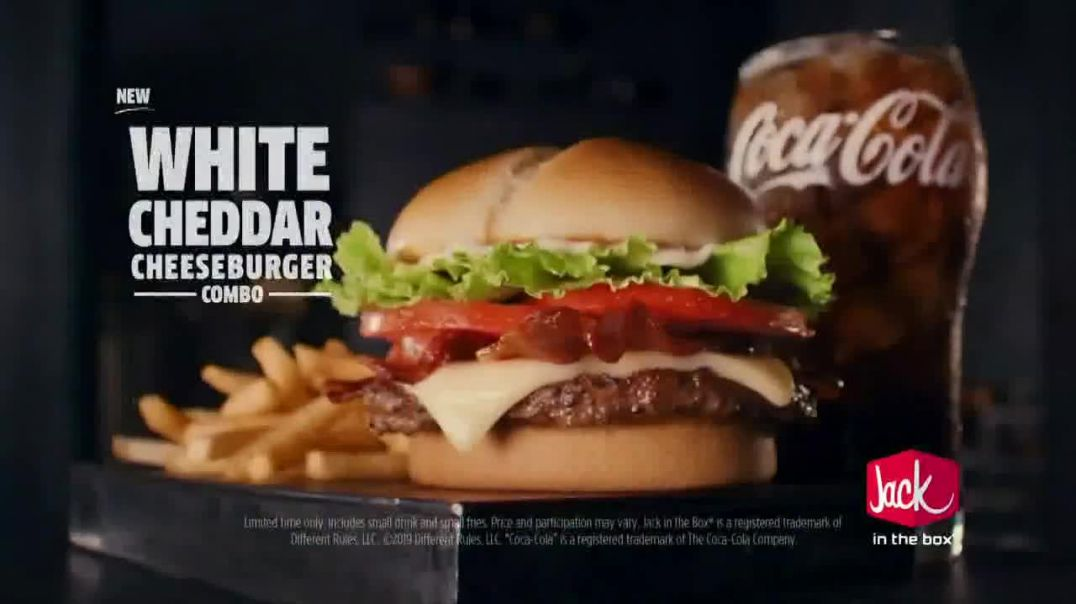 Jack in the Box White Cheddar Cheeseburger Combo TV Commercial Ad This Date.mp4
