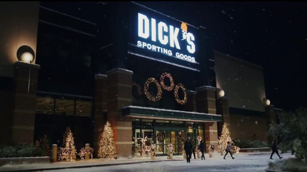 Dicks Sporting Goods TV Commercial Ad Holidays Keep Watching.mp4