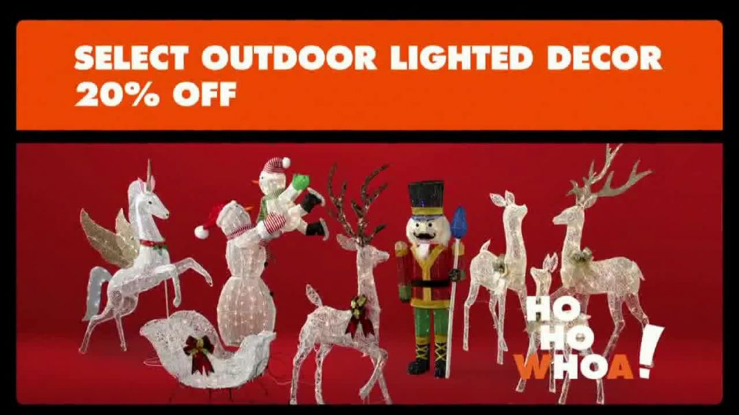 Big Lots Big Black Friday Sale TV Commercial Ad HoHoWhoa Outdoor Lighted Decor.mp4