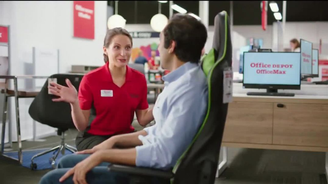 Office Depot & OfficeMax TV Commercial Ad Worry Free Free Next Day Shipping.mp4