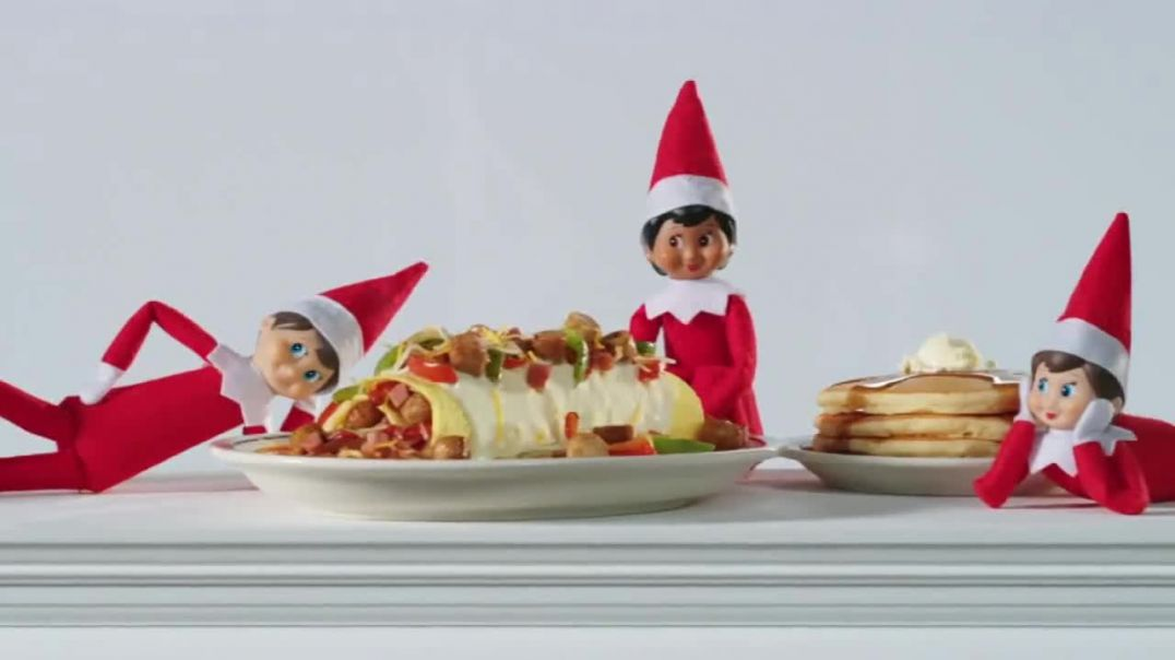 IHOP Elf on the Shelf Menu TV Commercial Ad Directamente desde el polo norte.mp4