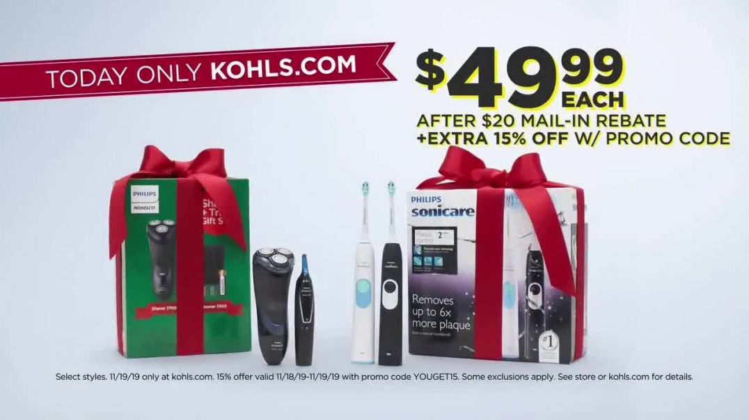 Kohls Black Friday Early Access TV Commercial Ad Comforters, Personal Care and Beauty.mp4