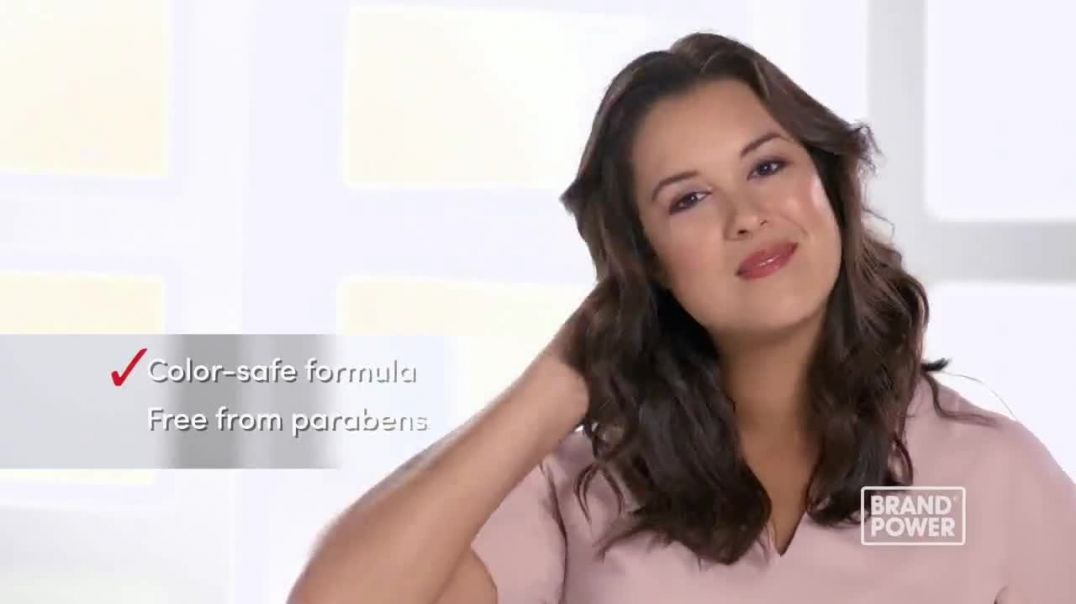Pantene Daily Moisture Renewal Conditioner TV Commercial Ad Brand Power Repair Dry Damaged Hair.mp4