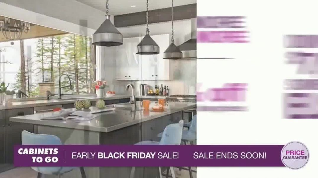 Cabinets To Go Early Black Friday Sale TV Commercial Ad Shaker Style Kitchen.mp4