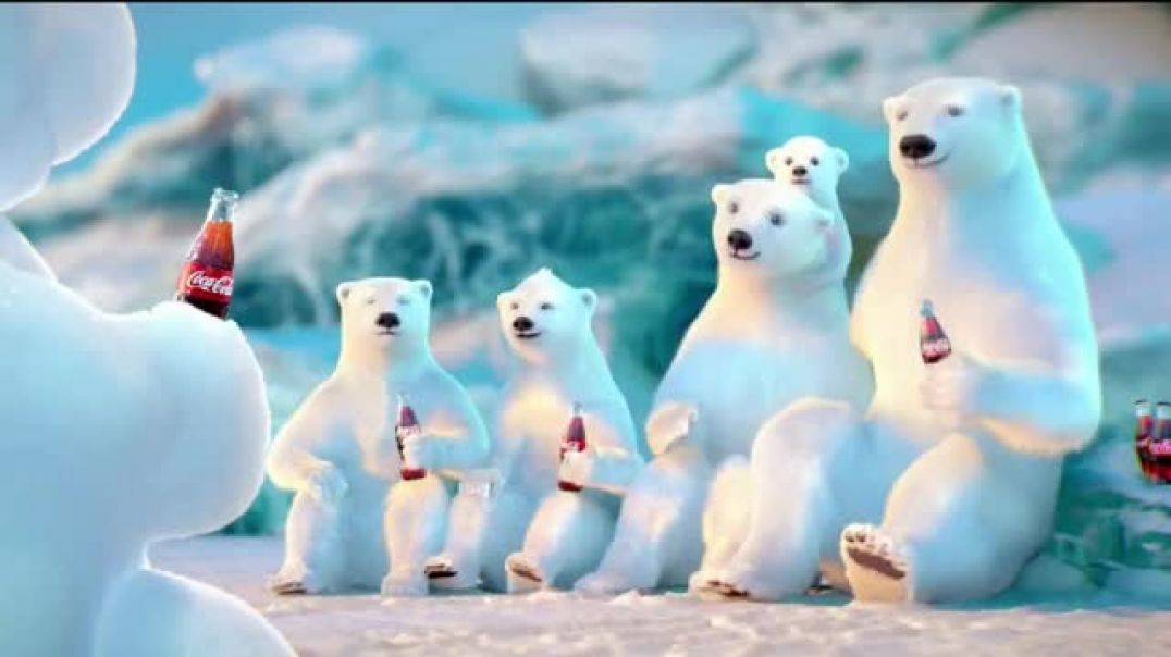 CocaCola TV Commercial Ad Snow Polar Bear Song by Edvard Grieg.mp4