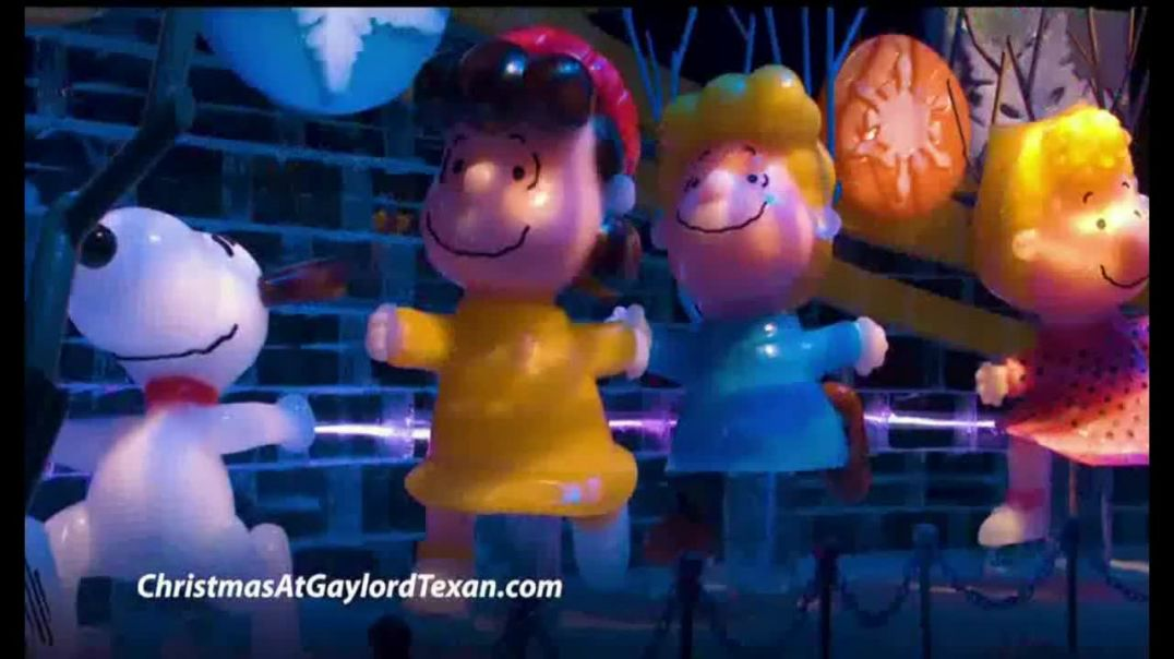 ICE! at Gaylord Texan TV Commercial Ad 2019 A Charlie Brown Christmas.mp4