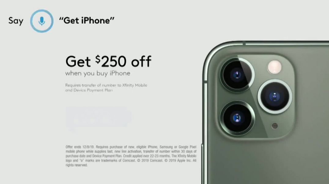 XFINITY Mobile Beyond Black Friday TV Commercial Ad First Words iPhone 11 Pro Song by Screamin Jay H