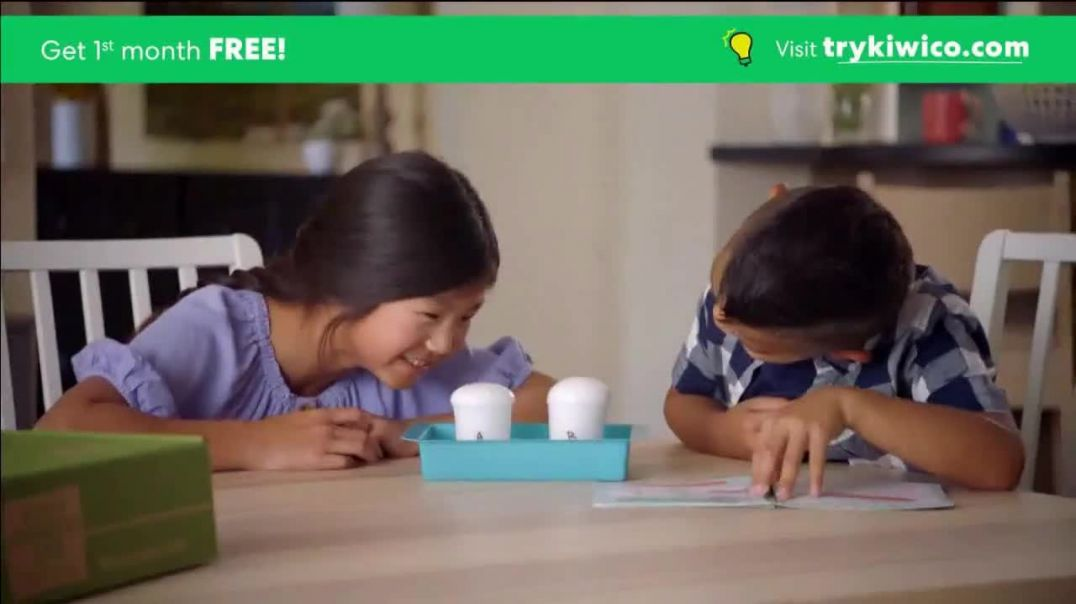 KiwiCo TV Commercial Ad STEM Based Projects First Month Free.mp4