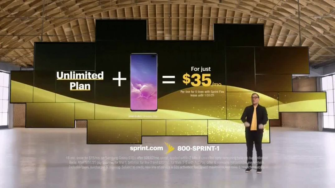 Sprint TV Commercial Ad Short & Sweet Samsung Galaxy S10+.mp4