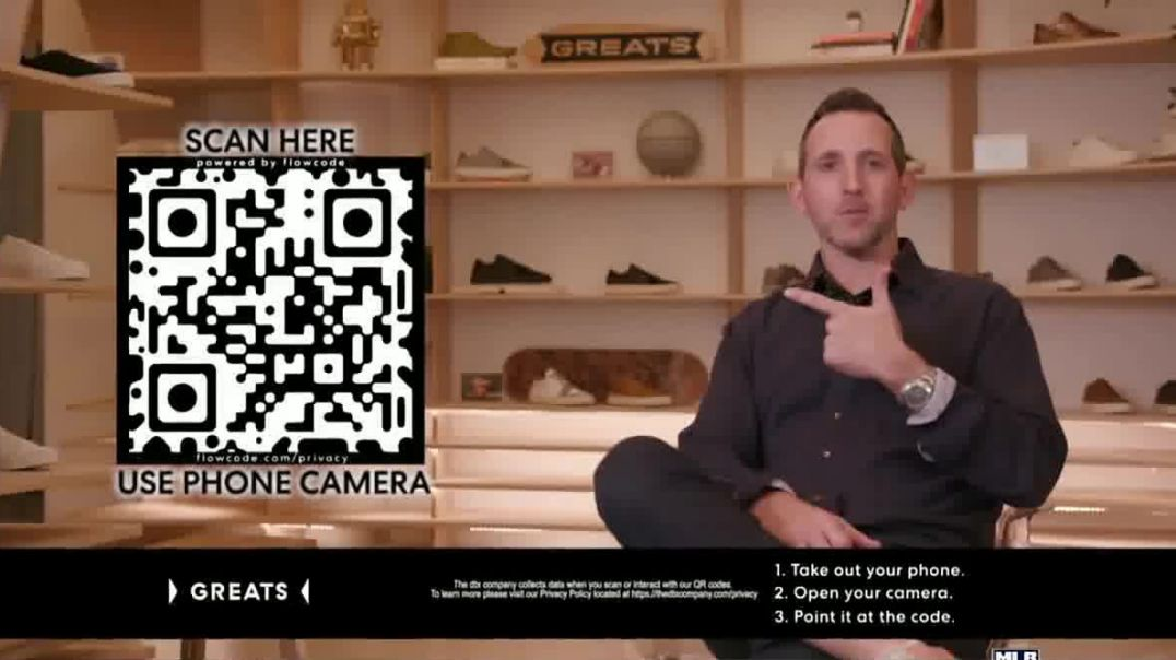 Greats TV Commercial Ad QR Code Not Just a Sneaker.mp4