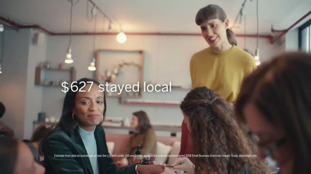 American Express TV Commercial Ad Small Business Saturday Support Local Nail Salons.mp4