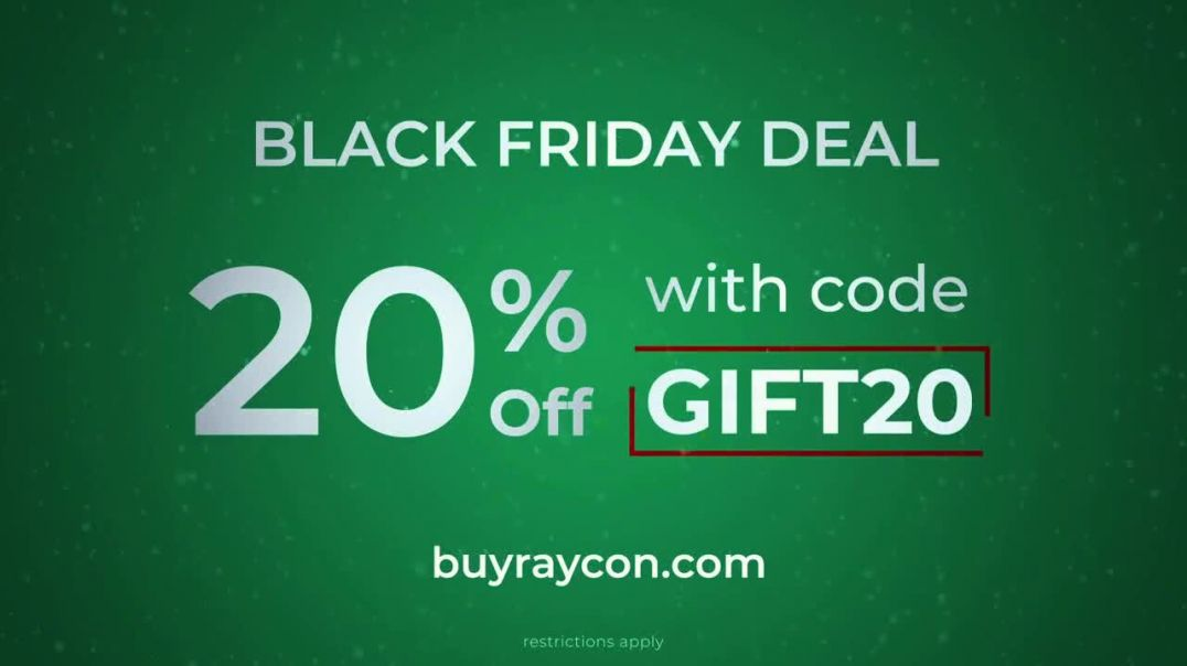 Raycon Wireless Earbuds TV Commercial Ad Black Friday Deal Perfect Gift Featuring Ray J.mp4