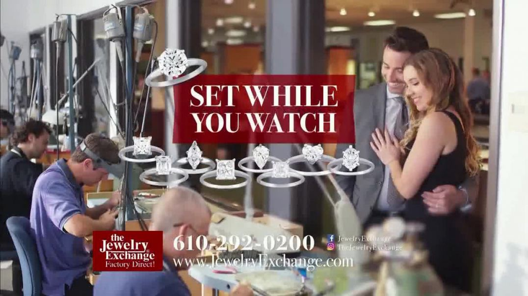 Jewelry Exchange TV Commercial Ad Thousands of GIA Diamonds.mp4