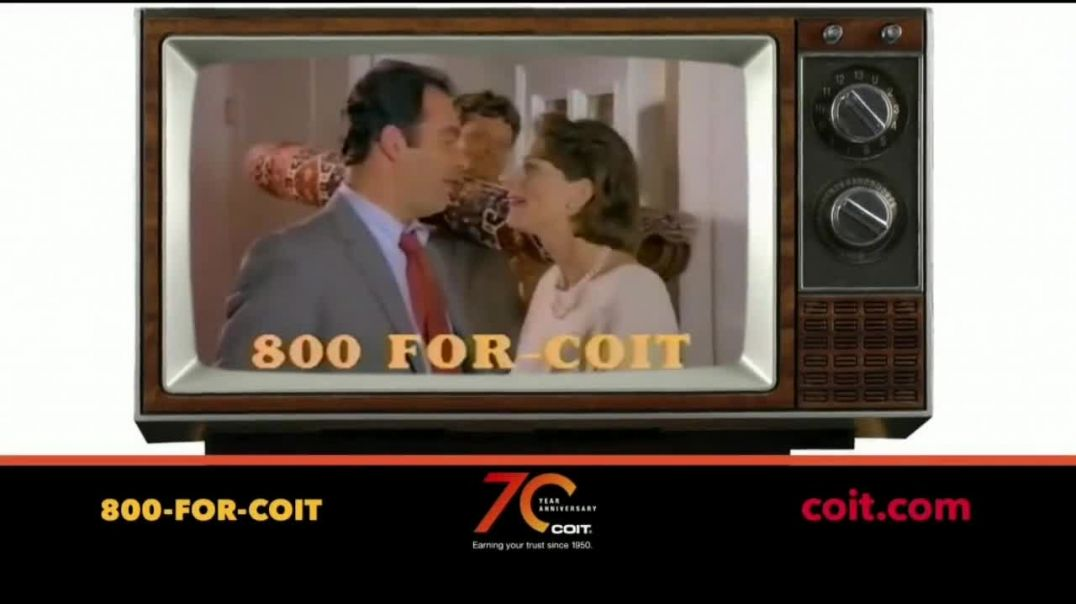 COIT 70 Year Anniversary TV Commercial Ad Blast From the Past New Carpets and Drapes.mp4