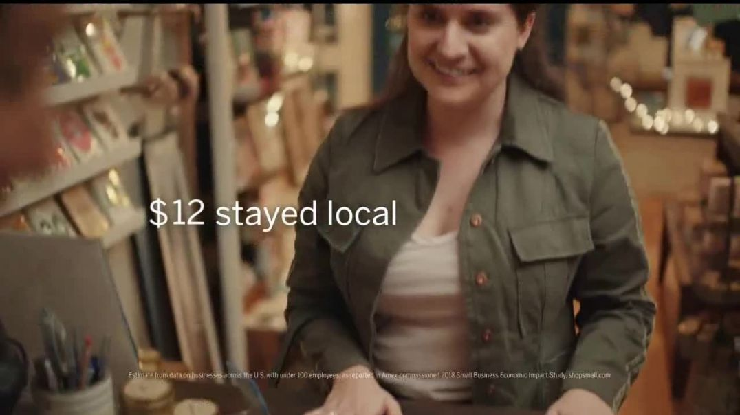 American Express TV Commercial Ad Small Business Saturday Support Local Gift Shops.mp4