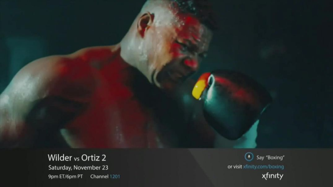 XFINITY TV Commercial Ad World Welterweight Championship Wilder vs. Ortiz.mp4