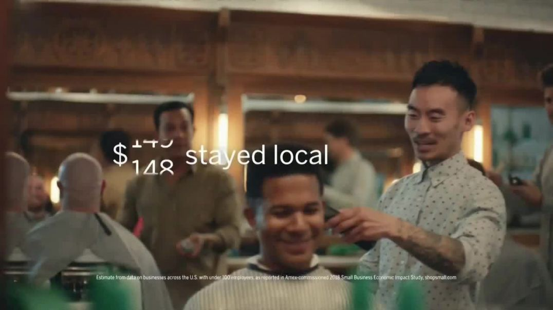 American Express TV Commercial Ad Small Business Saturday Barber.mp4